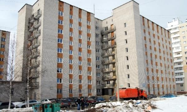 остекление общежития в Архангельске