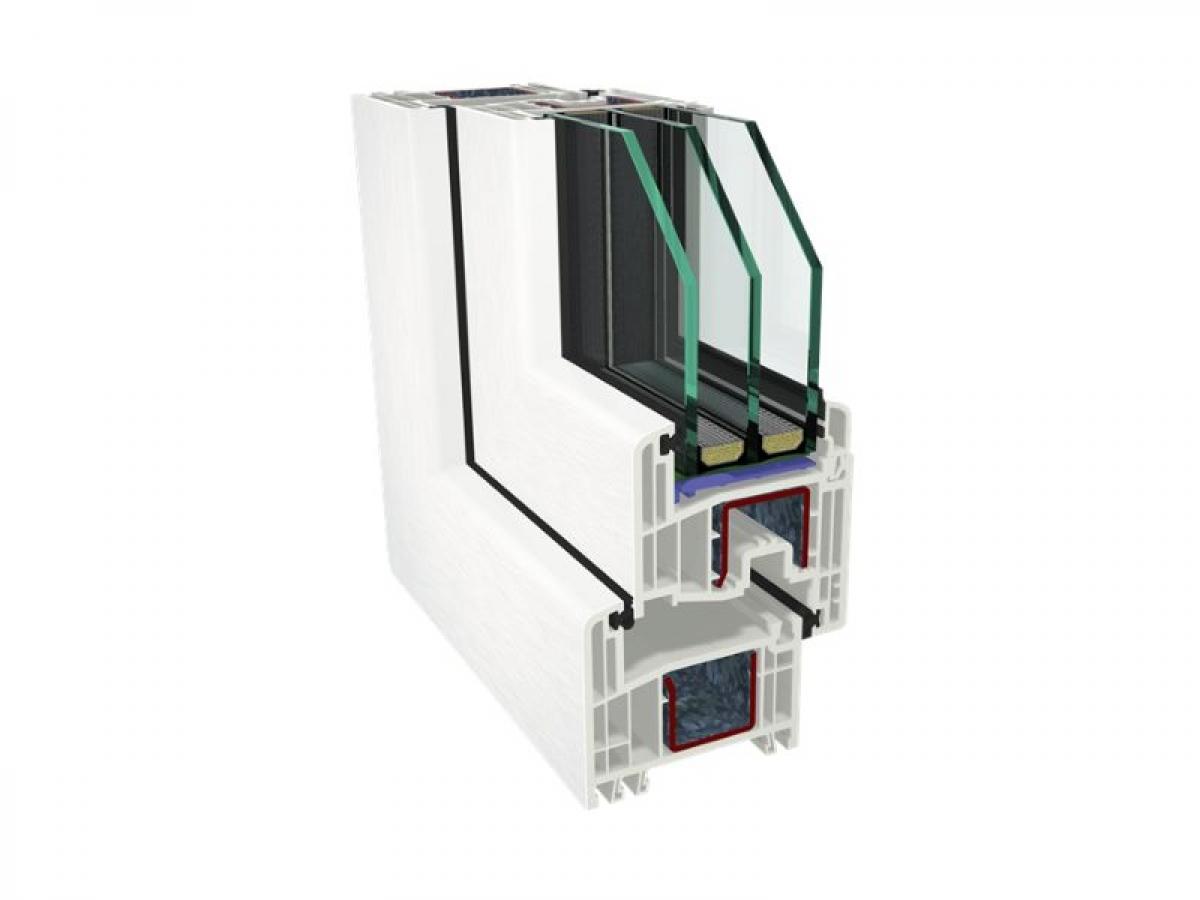 Профиль GEALAN S 8000 / 74мм