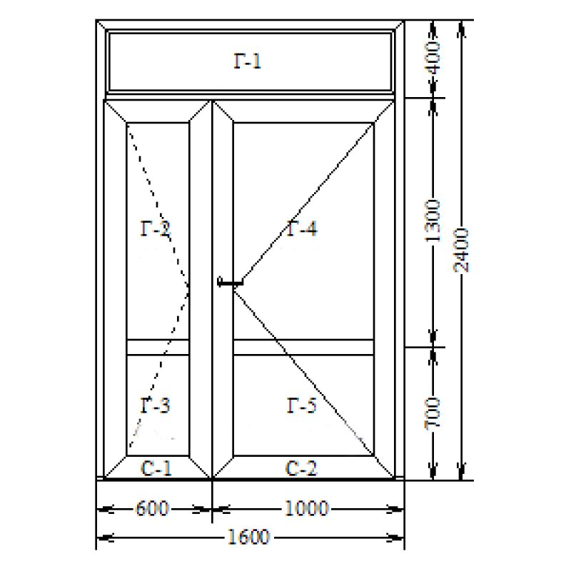 Алюминий холодный (AGS-50) 1600х2100