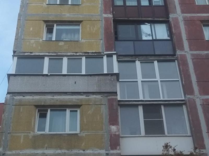 балкон из профиля GEALAN 8000