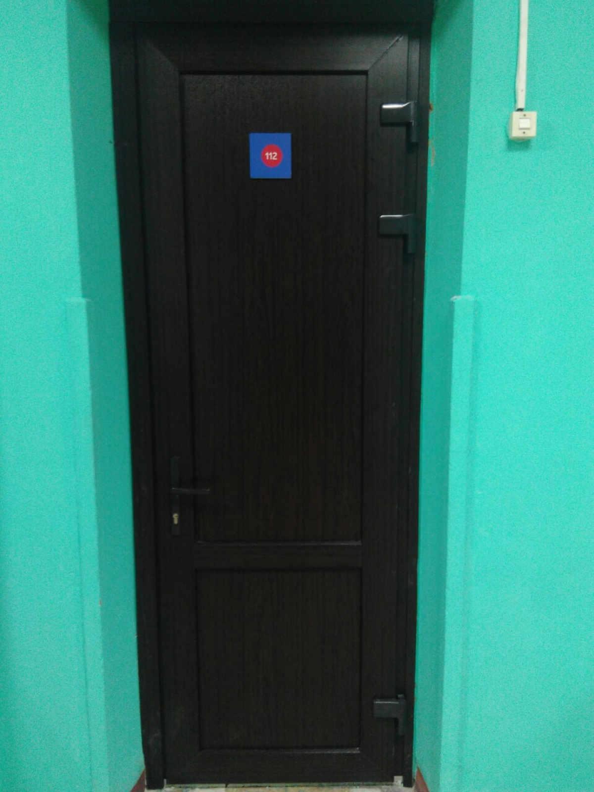 Входная дверь из профиля NOVOTEX